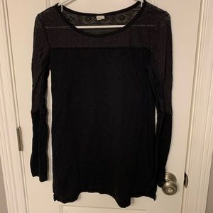 Wild pearl | black long sleeve